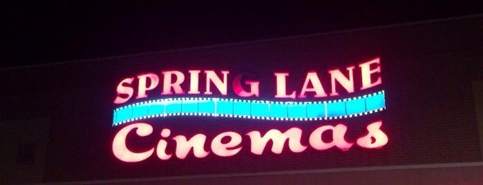 Spring Lane Cinemas is one of Kelsey.