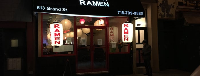 Ryujin Ramen is one of Help I'm in Williamsburg & I don't like it anymore.
