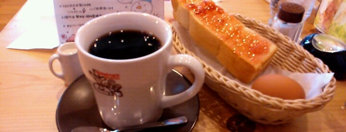 Komeda's Coffee is one of Locais salvos de Kazuaki.