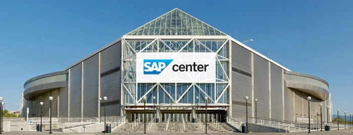 SAP Center at San Jose is one of Orte, die Ray gefallen.
