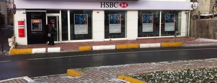 HSBC is one of Locais curtidos por Bengü Deliktaş.
