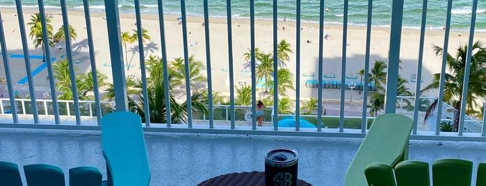 Margaritaville Hollywood Beach Resort is one of Orte, die Maiddi gefallen.