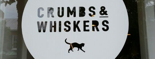 Crumbs & Whiskers is one of Locais curtidos por Helene.