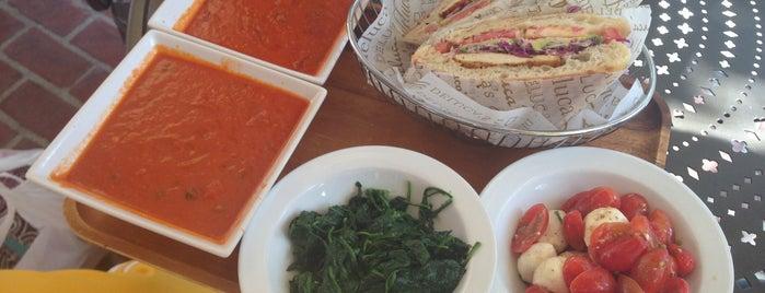 Deluca's Italian Deli is one of LA eats.