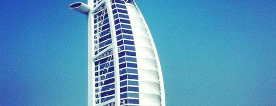 Burj Al Arab is one of Les plus beaux rooftops !.