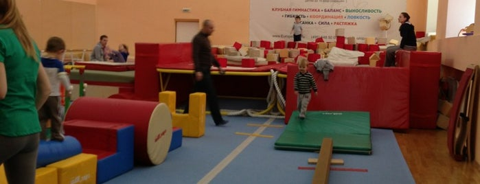 Европейский гимнастический центр is one of Anastasiaさんのお気に入りスポット.