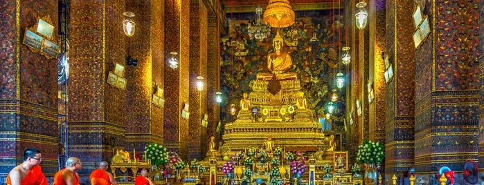 Wat Pho is one of Locais curtidos por Dale.