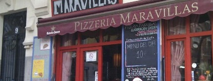 Pizzeria Maravillas is one of Sitios chulis de Madrid.