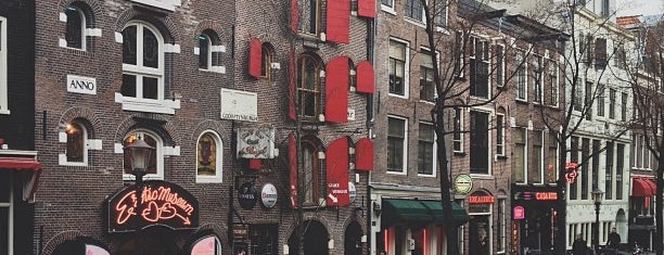 Red Light District / De Wallen is one of Favorite Places Around the World.