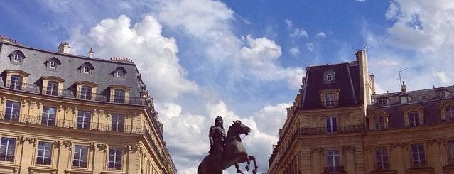 Place des Victoires is one of Paris.
