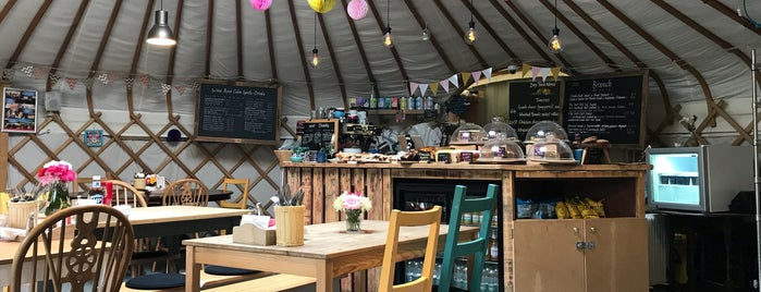 Yurt Cafe is one of Brunch and Cafes.