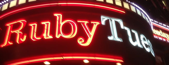 Ruby Tuesday is one of Restaurants.