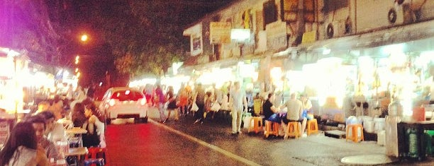 Night Food Stall Street is one of Locais curtidos por Ian.