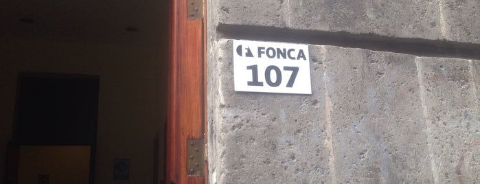 FONCA is one of Mis lugares.
