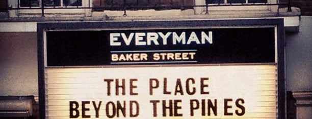 Everyman Cinema is one of Marylebone, London.