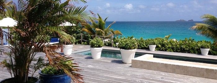 Cheval Blanc St-Barth Isle de France is one of Tempat yang Disukai IS.