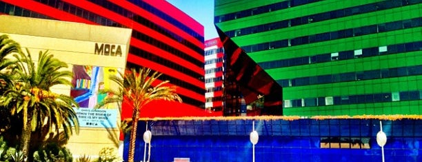 MOCA Pacific Design Center is one of La to sf.