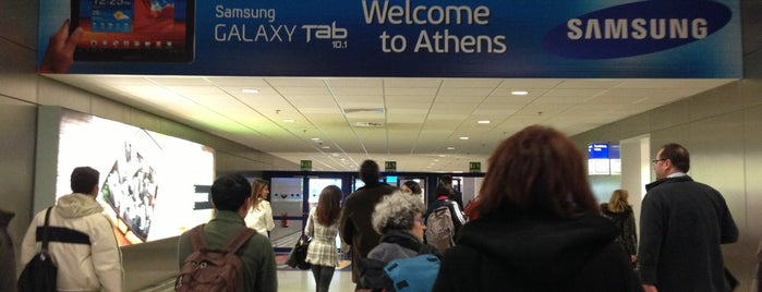 Arrivals Level is one of athens.