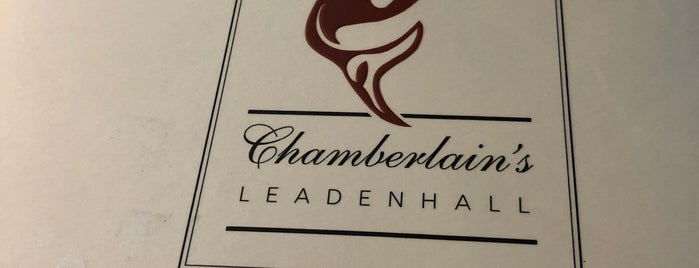 Chamberlain's Restaurant is one of Enjoyed visiting this place.