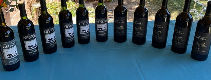 Hendry Winery is one of SF Chronicle.