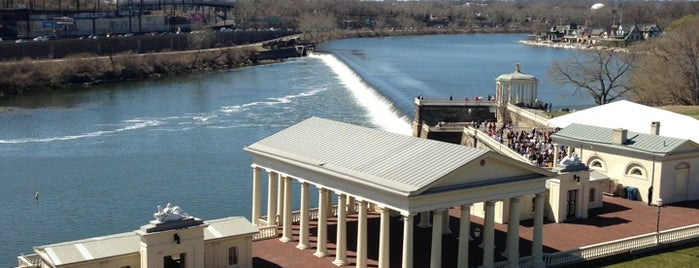Fairmount Water Works is one of philly things.