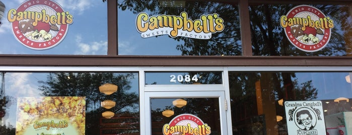 Campbell's Sweets Factory is one of Cleveland.
