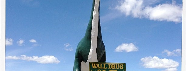 Wall Drug Dinosaur is one of South Dakota.