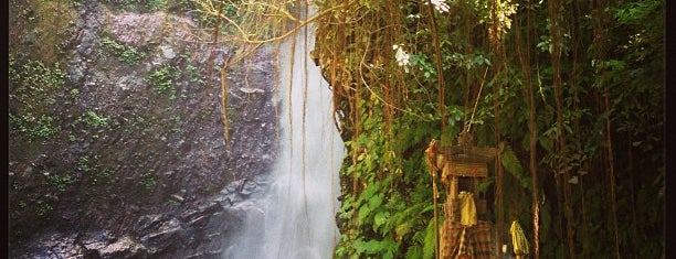 """LES WaterFall """"Yeh Mampeh"""" is one of Bali."""