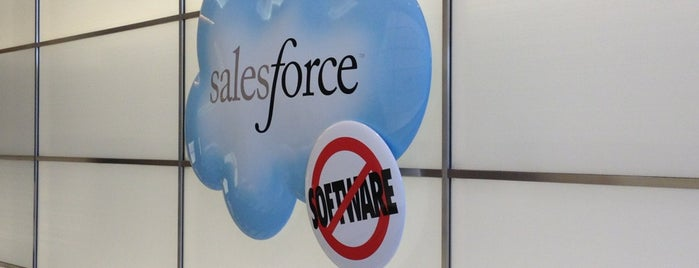 Salesforce is one of Silicon Valley Companies.