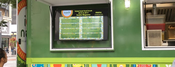 Nosh is one of Amazon Campus (SLU) Lunch Spots.