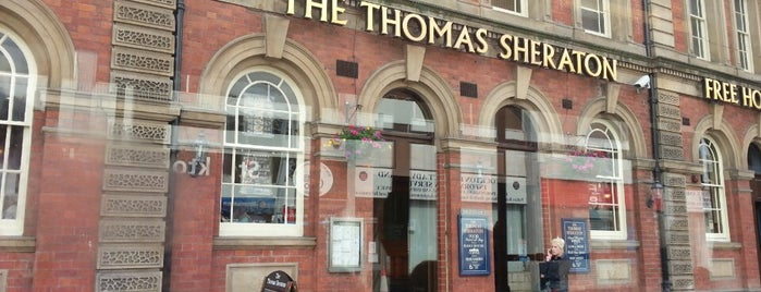 The Thomas Sheraton (Wetherspoon) is one of Carlさんのお気に入りスポット.