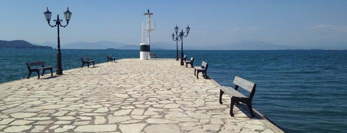 Φάρος Βόνιτσας is one of Tempat yang Disukai Spiridoula.