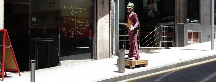J de joker is one of Locais salvos de Jaime.
