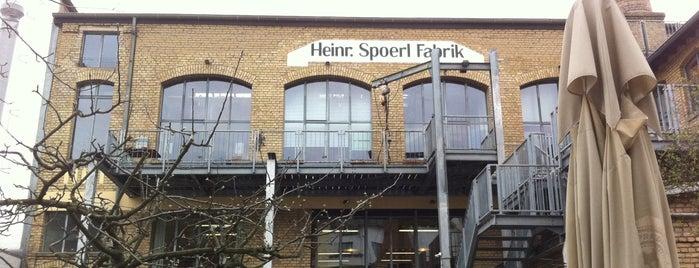Restaurant Spoerl Fabrik is one of The List:Dusseldorf.