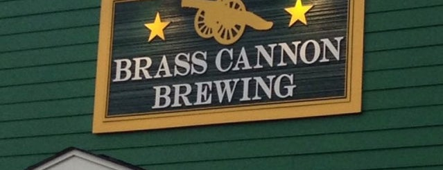 Brass Cannon Brewing Co. is one of Breweries or Bust 3.