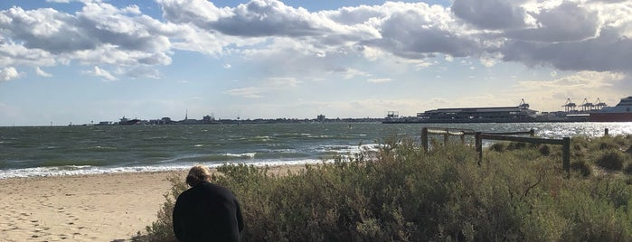 Port Melbourne Dog Beach is one of Melbourne.