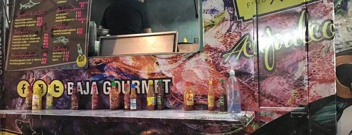 Tacos Baja Gourmet is one of Aca X Casa.