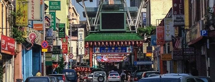 Crossroad of Jalan Petaling & Jalan Hang Lekir is one of Kuala Lumpur.
