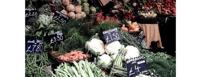 Borough Market is one of Lieux qui ont plu à Anna.