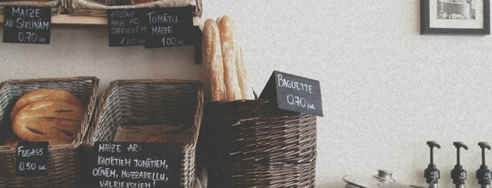 BOULANGERIE is one of Latvia.