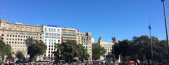 Plaça de Catalunya is one of #myhints4Barcelona.