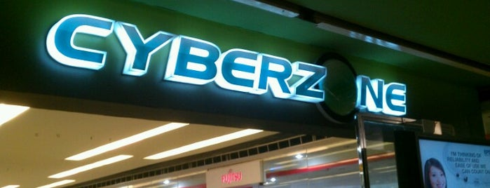 SM Cyberzone is one of SM Megamall.