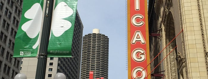 The Chicago Theatre is one of Places Around East West University.
