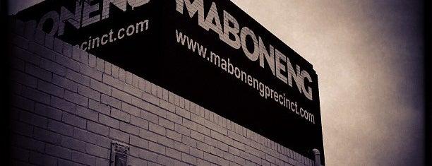 The Maboneng Precinct is one of Aalto in Africa tips.