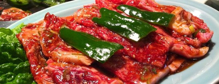 元祖平壌冷麺 食道園 is one of キヨ 님이 좋아한 장소.