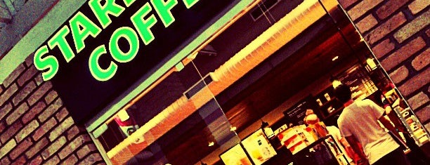 Starbucks is one of Cafés.