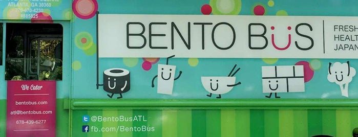 Bento Bus is one of Tried restaurants/Coffee shops ATL.