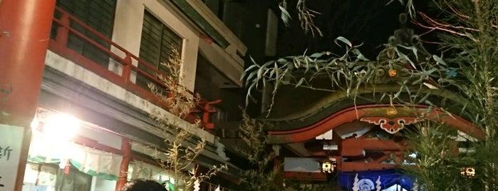 三崎稲荷神社 is one of 神輿で訪れた場所-1.
