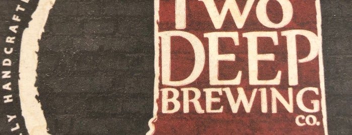 TwoDEEP Brewing Co. is one of Andrewさんの保存済みスポット.