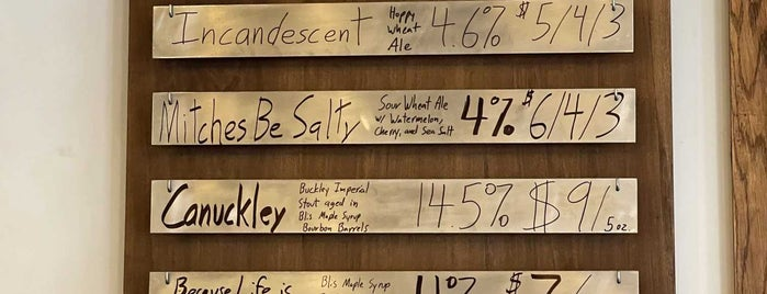Transient Artisan Ales is one of Michigan.